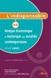 Analyse eco & hist des societes contemporaine ; l'indispensable - Couverture - Format classique