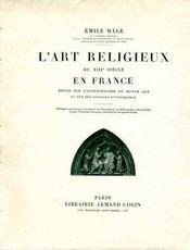 L'art religieux... - Intérieur - Format classique
