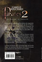 Pirates t.2 ; la fureur de juracan - 4ème de couverture - Format classique