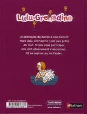 Lulu-grenadine en tutu - 4ème de couverture - Format classique