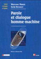 Reconnaissance Vocale Et Dialogue Homme-Machine - Intérieur - Format classique