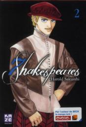 Seven Shakespeares t.2 - Couverture - Format classique