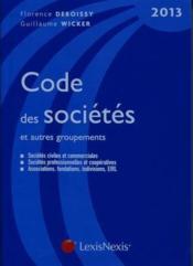 telecharger Code des societes et autres groupements (edition 2013) livre PDF/ePUB en ligne gratuit
