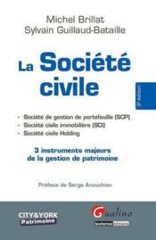 La société civile - Couverture - Format classique