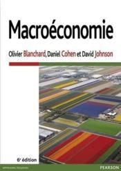 Macroéconomie (6e édition) - Couverture - Format classique