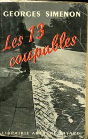 Les 13 Coupables. - Couverture - Format classique