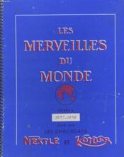 Les Merveilles Du Monde Volume 4. Album De Vignettes En Couleurs Auto-Collantes Compose De 5 Vignettes Sur 385 - Couverture - Format classique