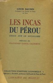 Les Incas Du Perou - Couverture - Format classique