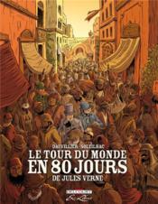 Le tour du monde en 80 jours, de Jules Verne ; intégrale - Couverture - Format classique
