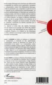 Les communications organisationnelles ; comprendre, construire, observer - 4ème de couverture - Format classique