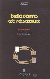 Telecoms et reseaux - Couverture - Format classique