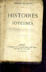 Histoires Joyeuses. - Couverture - Format classique