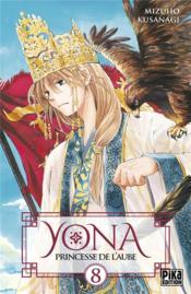 Yona, princesse de l'aube T.8 - Couverture - Format classique