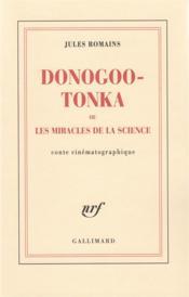 Donogoo-Tonka ou les miracles de la science ; conte cinématographique - Couverture - Format classique