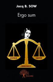Ergo sum - Couverture - Format classique