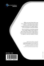 Femme de coquilles - 4ème de couverture - Format classique