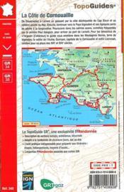 La côte de Cornouaille ; de la point du Raz aux montagnes Noires (édition 2017) - 4ème de couverture - Format classique