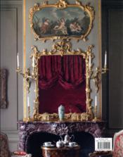 Château de Villette, fastes de un décor à la française - 4ème de couverture - Format classique