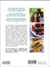 Veggie kids ; guide pratique et gourmand pour les 6-12 ans - 4ème de couverture - Format classique