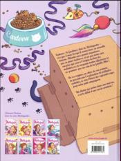 Mistinguette & Cartoon T.1 ; chat arrive ! - 4ème de couverture - Format classique