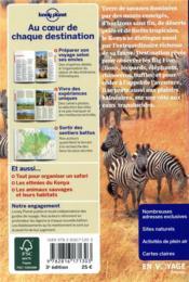 Kenya (3e édition) - 4ème de couverture - Format classique