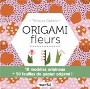 Origamis fleurs - Couverture - Format classique