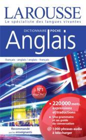 Dictionnaire Larousse poche anglais - Couverture - Format classique