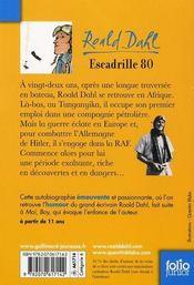 Escadrille 80 - 4ème de couverture - Format classique