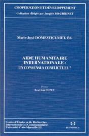 Aide humanitaire internationale - Couverture - Format classique