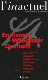 Revue L'Inactuel 06 - En Lisant Wladimir Granoff - Intérieur - Format classique