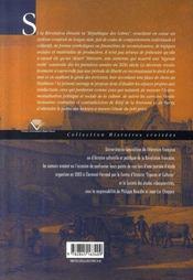 Réseaux et sociabilité littéraire en révolution - 4ème de couverture - Format classique