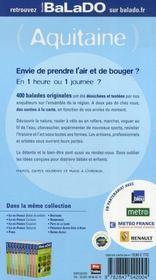 Guide Balado ; Aquitaine (Edition 2007-2008) - 4ème de couverture - Format classique