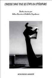 L'ivresse dans tous ses états en littérature - Couverture - Format classique