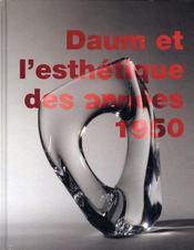 Daum et l'esthétique des années 1950 - Intérieur - Format classique