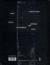 Daum et l'esthétique des années 1950 - 4ème de couverture - Format classique