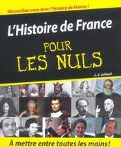L'histoire de France pour les nuls - Intérieur - Format classique