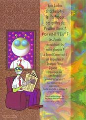 Les aventures de jim audax ; dans les griffes du pavillon divin - 4ème de couverture - Format classique