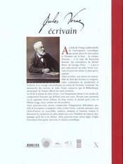 Jules Verne, écrivain - 4ème de couverture - Format classique