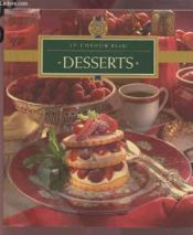 Desserts - Couverture - Format classique