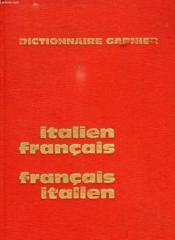Dictionnaire Italien-Francais Et Francais-Italien - Couverture - Format classique