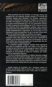 Le livre noir de l'agriculture - 4ème de couverture - Format classique