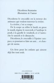 Dicodorus Anastasius - 4ème de couverture - Format classique