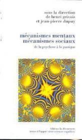Mecanismes Mentaux, Mecanismes Sociaux - Couverture - Format classique