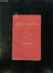 Auteurs Francais Etudes Critiques Et Analyses. Nouvelle Edition. - Couverture - Format classique