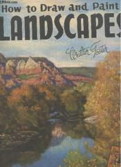 How To Draw And Paint Landscapes 8 - Couverture - Format classique