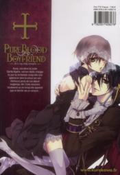 Pureblood boyfriend t.1 - 4ème de couverture - Format classique
