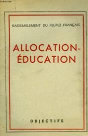 Allocation-Education - Couverture - Format classique
