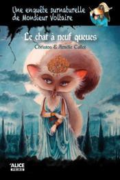 Une enquête surnaturelle de monsieur Voltaire T.2 ; le chat à neuf queues - Couverture - Format classique