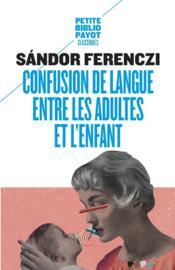 Confusion de langue entre les adultes et l'enfants - Couverture - Format classique