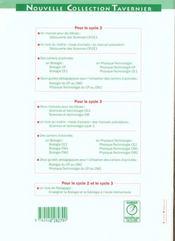 Physique, technologie ; cycles 2 et 3 ; guide pédagogique - 4ème de couverture - Format classique